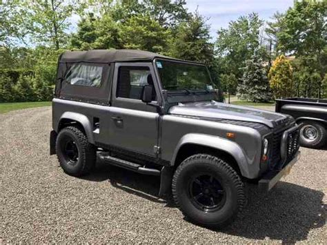 land rover jeep defender for sale land rover for sale on classiccars com 86 available
