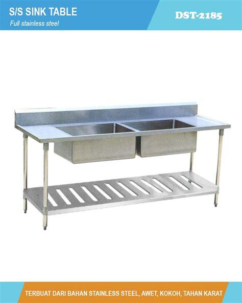 S S Sink Table Meja Cuci Piring St 1255 s s sink table dst 2185 meja cuci piring dan tangan pt