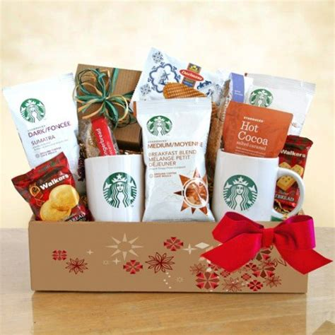 a starbucks christmas coffee christmas gift basket 5ive