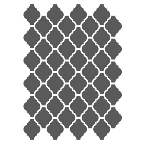 moroccan shapes templates moroccan stencils template small scale for crafting