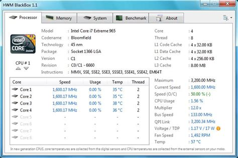 cpu info windows xp displaying motherboard memory cpu info super user