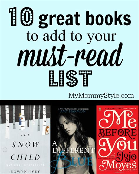 10 great books to add to your booklist my style
