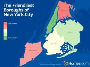 Boroughs Of New York Map by Love Thy Neighbor A New York City Borough Survey Homes Com