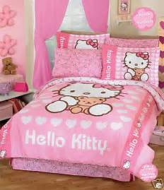 Hello kitty bedding hello kitty bed set hello kitty comforter set