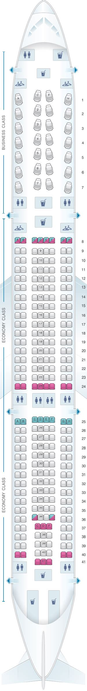 seat map american airlines airbus   seatmaestro