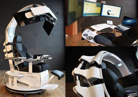 Emperor Desk by 10 Awesomely And Ridiculously Designed Workstation