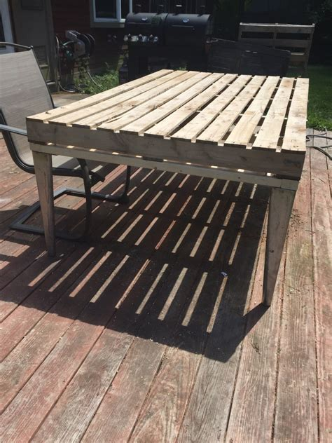 Pallet Patio Table Patio Coffee Table Out Of Wooden Pallets Pallet Ideas Recycled Upcycled Pallets Furniture