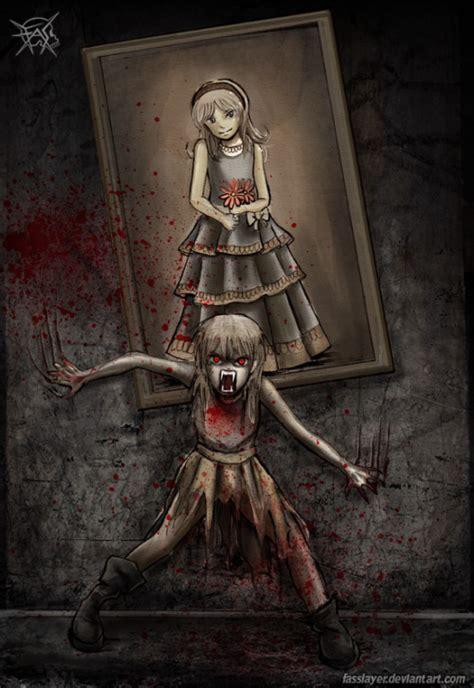 anime horror creepy anime horror on