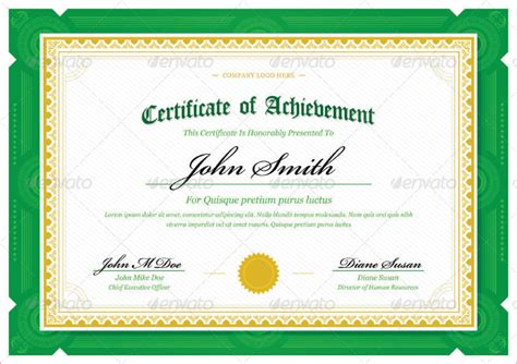 30 award certificate templates free printable design