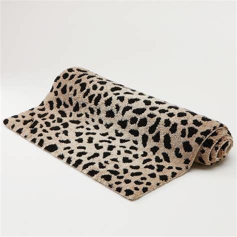 cheetah bathroom rugs abyss cheetah bath rug bloomingdale s