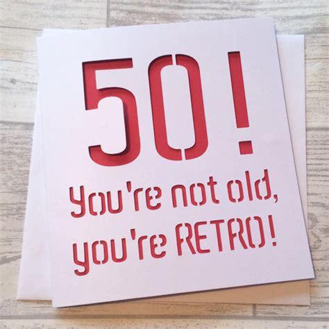 50th Birthday Cards For Him 50th Birthday Card 50th Birthday 50 Birthday Card 50