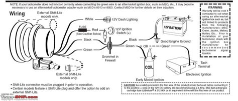 auto meter tachometer wiring diagram auto free engine