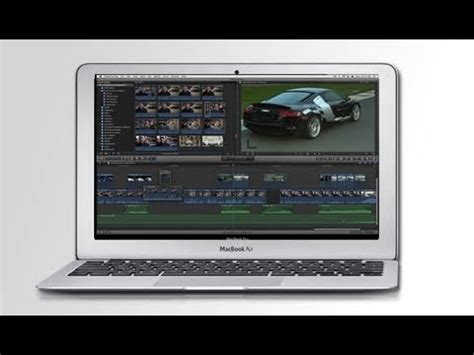 Final Cut Pro In Macbook Air | final cut pro x running on 2011 macbook air speedtest