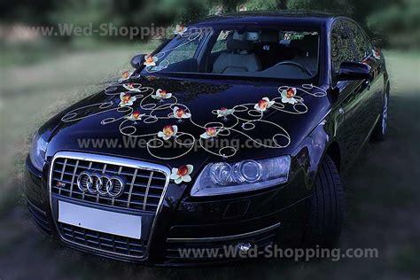 Blumenschmuck Auto Bestellen by Autoschmuck Hochzeit Gelben Orchideen