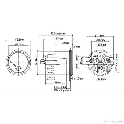 vdo fuel wiring diagram vdo vdo cockpit international electric fuel 24v use