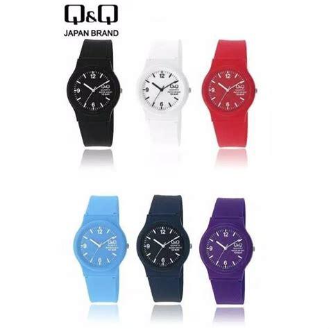 Fortuner Ad 1617 Rubber Black Blue q q jam tangan sport wanita rubber casual