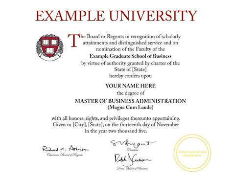 Buy A Fake College Diploma Online Harvard Diploma Template
