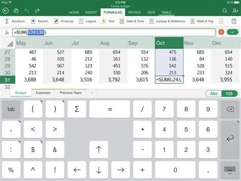 tutorial excel en ipad مايكروسوفت أوفيس مجانا على الآيباد والآيفون