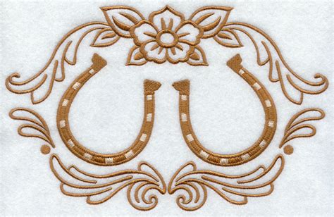 embroidery design horseshoe machine embroidery designs at embroidery library