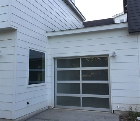 overhead door installation view residential garage door installation before