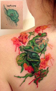 watercolor tattoo puerto rico hibiscus flower and coqui frog tattoos
