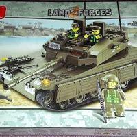 Mainan Brick Lego Mainan Edukatif Lego Army Tank 3 In 1 102 Pcs sluban land2force b0305 k1 tank toko mainan ciputat