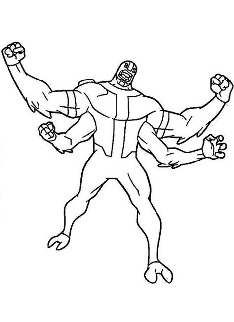Ben Ten Omniverse Coloring Pages by Ben 10 Omniverse Watches Free Colouring Pages