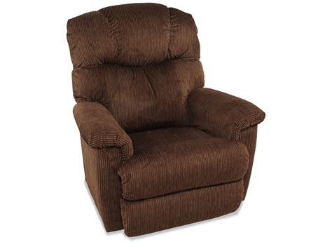 La Z Boy Lancer Pecan Power Recliner Mathis Brothers