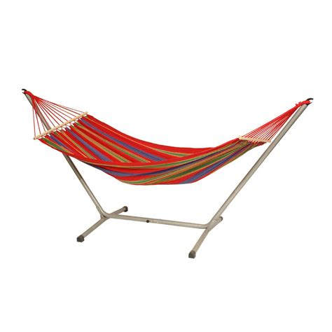 Cotton Hammock With Stand Byer Of Maine 10 Ft 2 In Poly Cotton Blend Hammock With