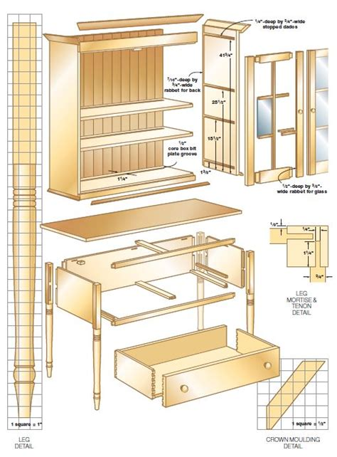 Shaker Furniture Plans by Woodworking Plans