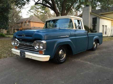 1960 ford f100 kustom rod classic truck mild