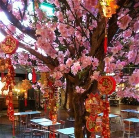new year blossom tree creative events special events greenscape