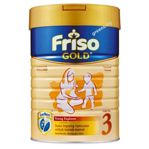 Friso Gold 3 900g friso gold explorer milk powder step 3 900g new