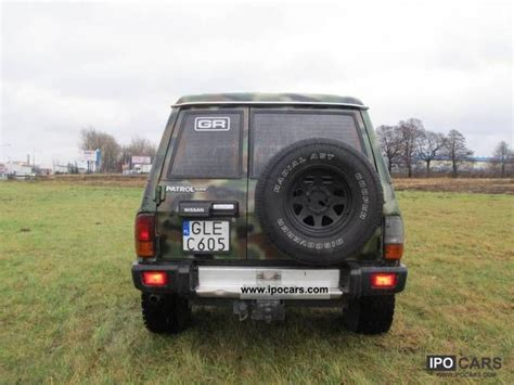 nissan patrol 1990 off road 1990 nissan patrol podwyższany car photo and specs