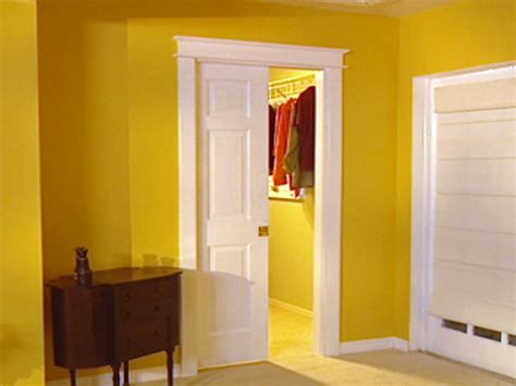 how to install bedroom door how to install a pocket door how tos diy