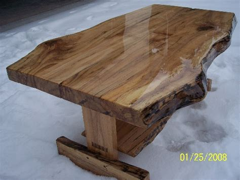 tables made from logs woodwork log coffee table plans pdf plans