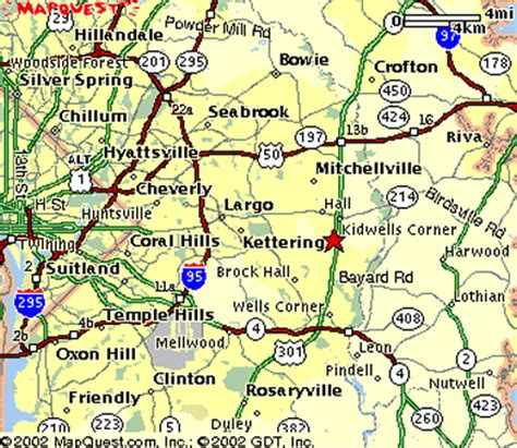 maryland driving map maryland maps and state information