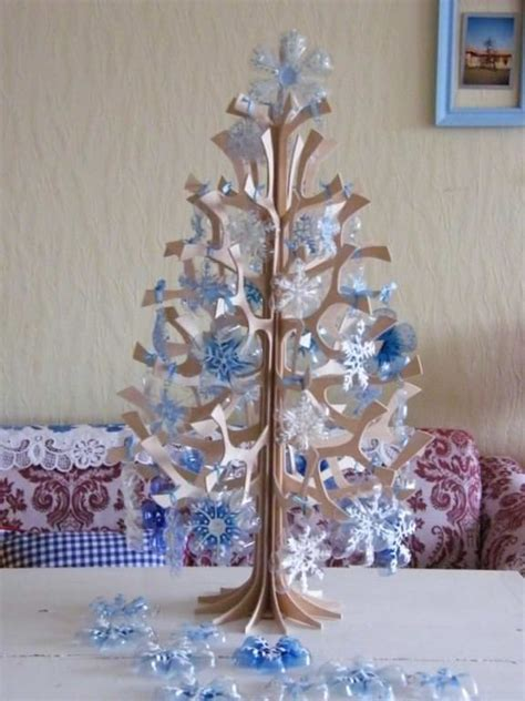recycled tree decorations diy how to recycle soda bottles into