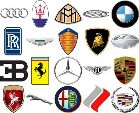 car brands logos ideas  pinterest car logos