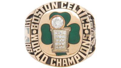 Ring Boston Ukuran 12 robert parish put 1986 celtics nba chionship ring up for auction photos boston celtics