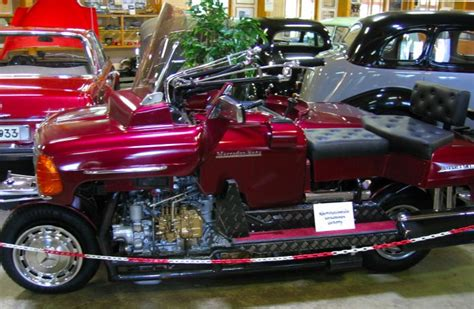 mercedes motorcycle a custom mercedes sidecar motorcycle from finland
