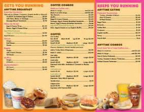 Menu Dunkin Donuts Dunkin Donuts Menu Menu For Dunkin Donuts Southaven