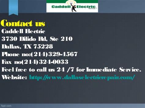caddell electric electrician dallas tx electricians caddell electric your trusted dallas electricians