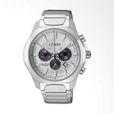 jual citizen eco drive chronograph jam tangan pria silver ca4320 51a harga