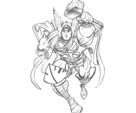 mighty avengers coloring pages 72 thor coloring pages printable thor coloring