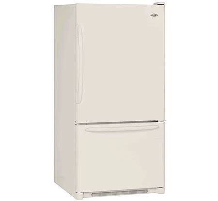 Www Crispers Com Gift Card Balance - maytag 19 cu ft bisque bottom freezer refrigerator mbf1956heq abt
