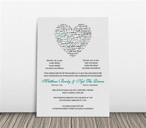 Wedding Invitations Language by Wedding Invitation Language Bromente