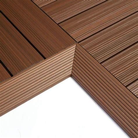 newtechwood  ft   ft quick deck composite deck tile