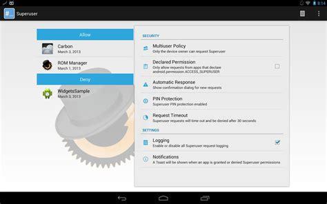 android superuser superuser indir android i 231 in s 252 per kullanıcı uygulaması