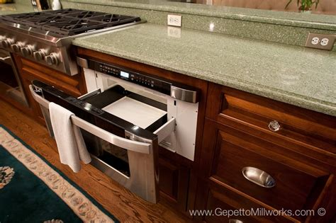 Pull Out Countertop by Sub Countertop Pull Out Microwave Oven Detail Photo